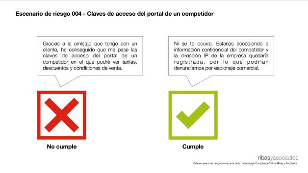 Escenario de riesgo 004 - Claves de acceso del portal de un competidor